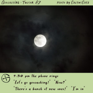 moon photograph by M. LaFreniere, GeocachingCactus